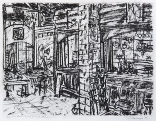 The Old Bar, North Melbourne Studio 1996. Jan Senbergs