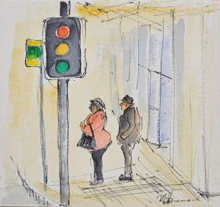 Traffic Lights. Mary Hammond