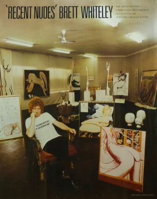 """Recent Nudes"" Brett Whiteley 1981. Brett Whiteley"