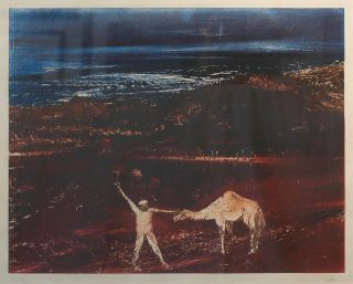 Burke and Camel 1978-79. Sidney Nolan