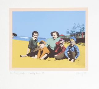 Family Snap - Clovelly Beach '59 1977. Geoffrey Harvey