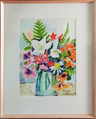Flowerpiece with Lilies