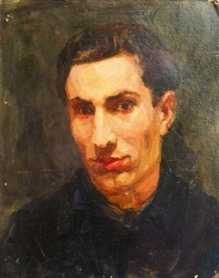 Portrait of G. B. Galoyan 1953. Viktor Otiev