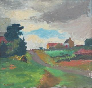 Country Road. Roland Wakelin