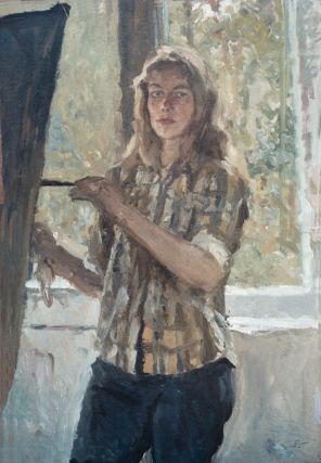Self Portrait c1978. Natalya Ziva