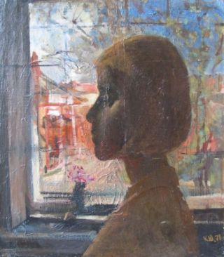 Profile of a Girl 1971. Yuri Karpov