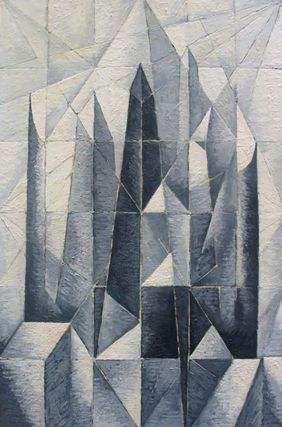 Towers, Grey Tone Study 1965-70. Clifford Bayliss